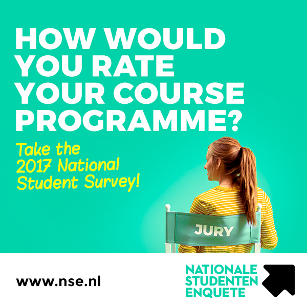 How would you rate your course programme? Take the 2017 National Student Survey